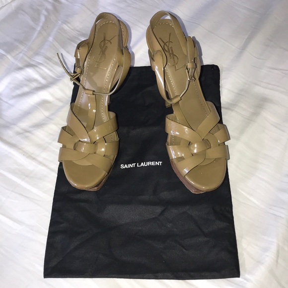 19d7fb06c7d Yves Saint Laurent Shoes | Ysl Tribute Heels Size 40 Eu 10 Us | Poshmark